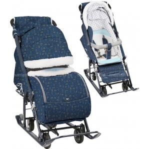 Санки-коляска Ника Детям 7-1(Б)