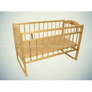 Кровать Заюшка колесо-качалка