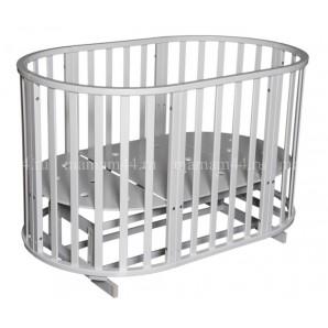 Кругло-овальная кровать Антел Северянка-3 6в1